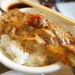 味覚園 - カルビ丼
