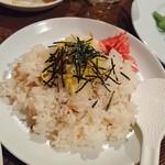 ポレール&糧とく - ちらし寿司っぽいの