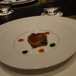 リーガロイヤルグラン沖縄 Dining 19 - 本日のアミューズ トマトをナスで巻いたもの