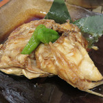 ひびき - 鯛のあら炊き。