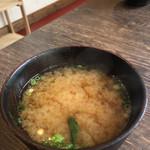 味噌屋 鎌倉 Inoue - お味噌汁 冬はたまらん