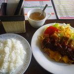 アンクル・サム - ポークカツレツ(デミ&チーズ)
