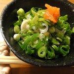 串焼たなかや - フグ皮湯引き ¥300