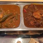 カフェと印度家庭料理 レカ - 野菜カレーとチキンカレー