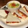 サンカフェ - 料理写真:イチゴカスタード