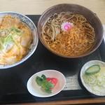 そば処むら田 - 蕎麦+開化丼