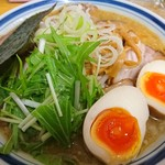 らーめん しゅん - 2016年12月 みそチャーシュー麺 1100円