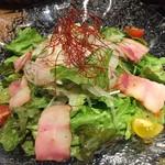 イベリコ屋 - IBERICO-YAサラダ、美味しい!