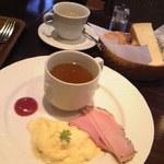 カフェラヴォワ - [料理] 洋朝食 セット全景♪w
