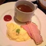 カフェラヴォワ - [料理] 洋朝食 メインプレート 全景♪w