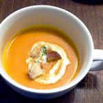 ビストロ サミュゼ - カボチャのポタージュスープ