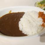 Shouwa - 照和特製カレーセット(サラダ、ドリンク付き):1000円