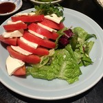 えんざ - トマトとモッツァレラチーズ(2016.Jul)