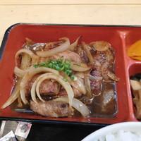 笑かど-和風ステーキ