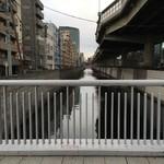 石ばし - 江戸川と首都高速5号線