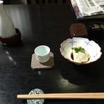 石ばし - 酒とざる豆腐