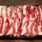 月の蕎麦 - 猪肉(2人前)
