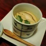 月の蕎麦 - 茶碗蒸し