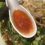 たかばしラーメン - たかばしラーメンのスープ