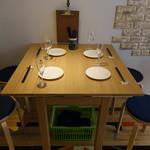 十割つけ蕎麦ムラマサ - テーブル席