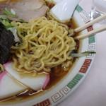 鳳龍 パラボ店 - 麺アップ