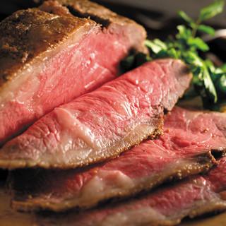 当店自慢◎A5黒毛和牛ローストビーフ、他お肉料理を25種類~