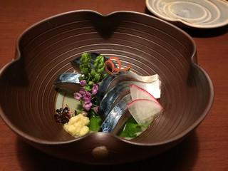 よし菜 - さばきずし 950円