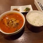 61290907 - ユッケジャン定食