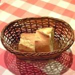 ブラッスリー・グー - メニューA 1050円 のパン