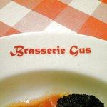 ブラッスリー・グー - お皿のロゴ