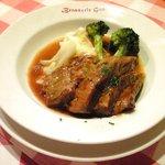 ブラッスリー・グー - メニューA 1050円 の黒豚バラ肉の赤ワインビネガー煮込み