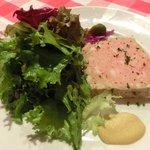 ブラッスリー・グー - メニューA 1050円 のお肉のテリーヌ