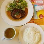 ガスト - 料理写真:大葉おろしの和風ハンバーグ