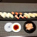 伊な勢 - 料理写真:ひらめ、赤イカ、蟹