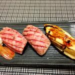 61295776 - 松阪肉と穴子
