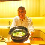 神楽坂 石かわ - 2017/1_石川さんとのどぐろご飯