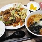 よ志乃 - 回鍋肉定食