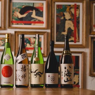 蕎麦やつまみに合う日本酒をセレクト