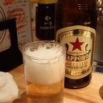 61300262 - 「サッポロラガー 中瓶」(税別600円)