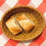 ブラッスリー・グー - メニューB 2376円 のパン