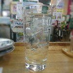 魚庭本店 - 焼酎じゃないよ! 水だよ!