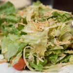 アーンドラ・ダイニング - 2017.1 季節のグリーンサラダ