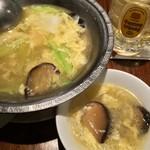 翠蓮 CHINESE RESTAURANT - 野菜入り玉子スープ