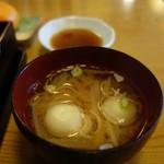 きよ友 - 料理写真:具沢山な味噌汁