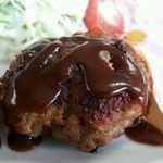 ドライブイン錦 - ハンバーグは小ぶりだけど家庭的な味わいで美味しい!