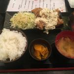 九州料理 居酒屋 永山本店 - チキン南蛮定食700円