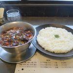 一文字カリー店 - ナスキーマ(3辛、普通、1,050円)