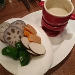 61315532 - 赤土野菜のバーニャカウダ