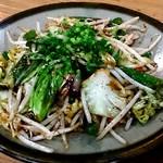 十七番地 - ピリ辛ラー油の野菜炒め