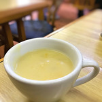 洋食 ZORO - おかわり自由のコーンスープ